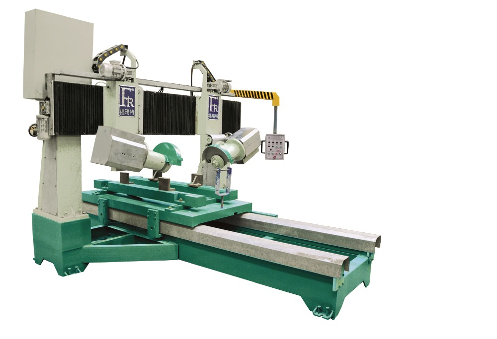 stone/granit pneumatic auto feeding cnc engraving and cutting machine/cnc edge grinding machine