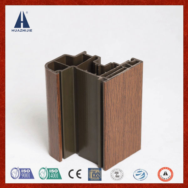 Anti ultraviolet radiation extruded pvc plastic profile export to Europe