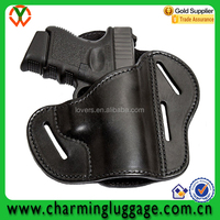 high quality new style black leather gun holster