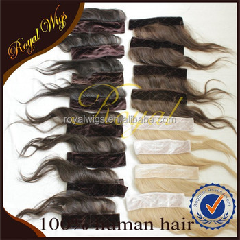 Wholesale Fashionable High Quality Brazilian Hair Jewish Wig Style Head Band, I Band
