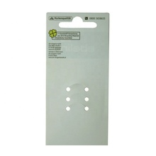 High quality PP plastic <strong>card</strong> for hair accessories with die-cut holes