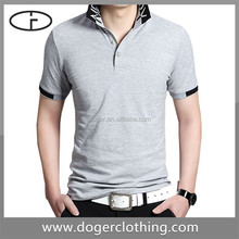 Wholesale retail promotion uniform short sleeve grey men polo new shirt