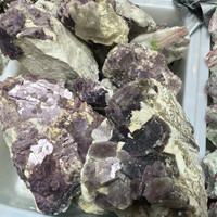 Natural Purple Mica Mineral Ore Crystal Stones For Sale