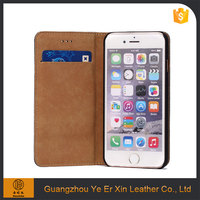 Wholesale free sample oem mobile phone accessories genuine leather phone case for iphone 6/6s/7