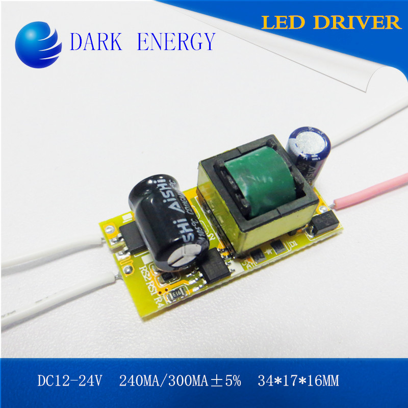 bulb light driver 7w 300MA led power supply