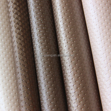 PVC sythetic upholstery leather with dots grain ,use for home decoration,bedroom ,living room