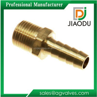 "super manufacturer competitive price good quality 3/8"" forged npt brass male threaded air brake hose nut fitting"
