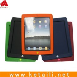 For ipad3 silicone cover, for promotion