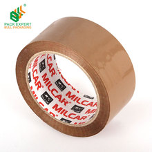 High adhesive power brown BOPP parcel packing tape for carton sealing