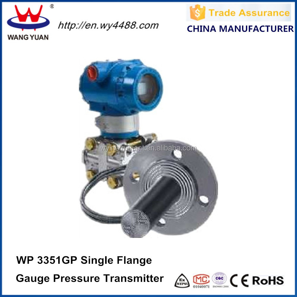 Industrial flange mounting high precision pressure transmitter