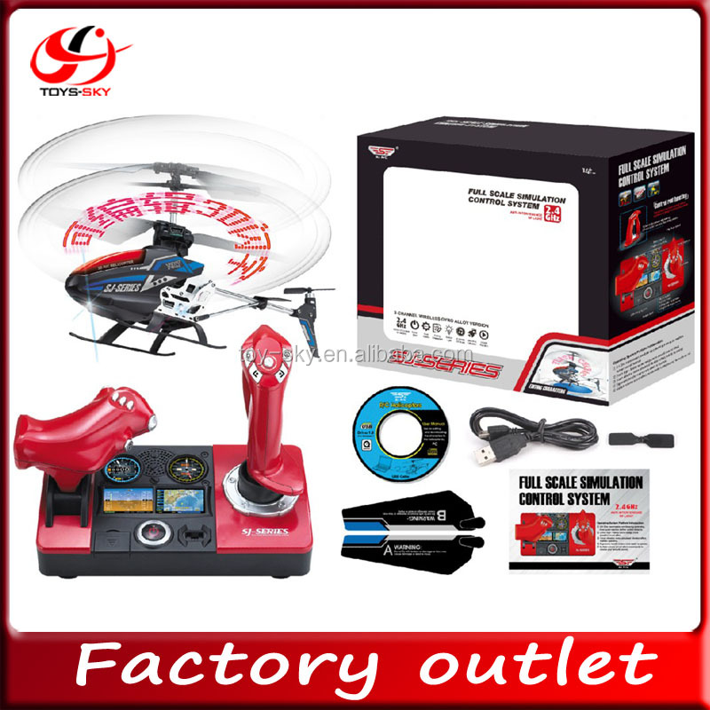 2.4GHZ 3.5ch RC Helicopter with gyro with flashing words and pictures showing chenghai rc helicopter SJ998