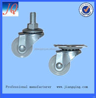Special factory manufacture fixed rubber caster wheel