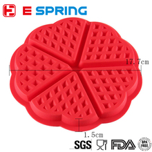 Best Price Superior Quality Customized Shape Silicone Waffle Cake Mould