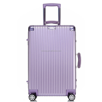 2016 new design Factory Price Acient style Luggage with TSA code lock spinner cheap