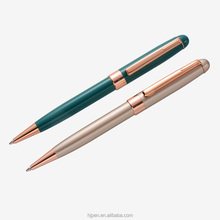 personalised gift pens mat rose gold sapphire pen from china pen factory