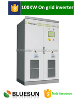 Top quality CE TUV CGC LVRT ZVRT certificate 100KVA central inverter MPPT 100kw grid tie inverter