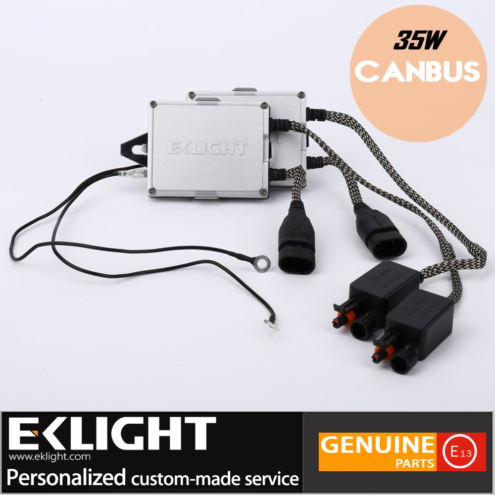 High Quality New Universal Auto Headlight A6 12v 35W HID XENON BULBS BALLAST