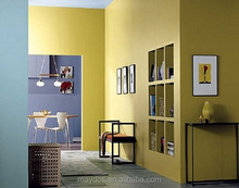 Home appliances interior wall latex paint provide fomulation color charts
