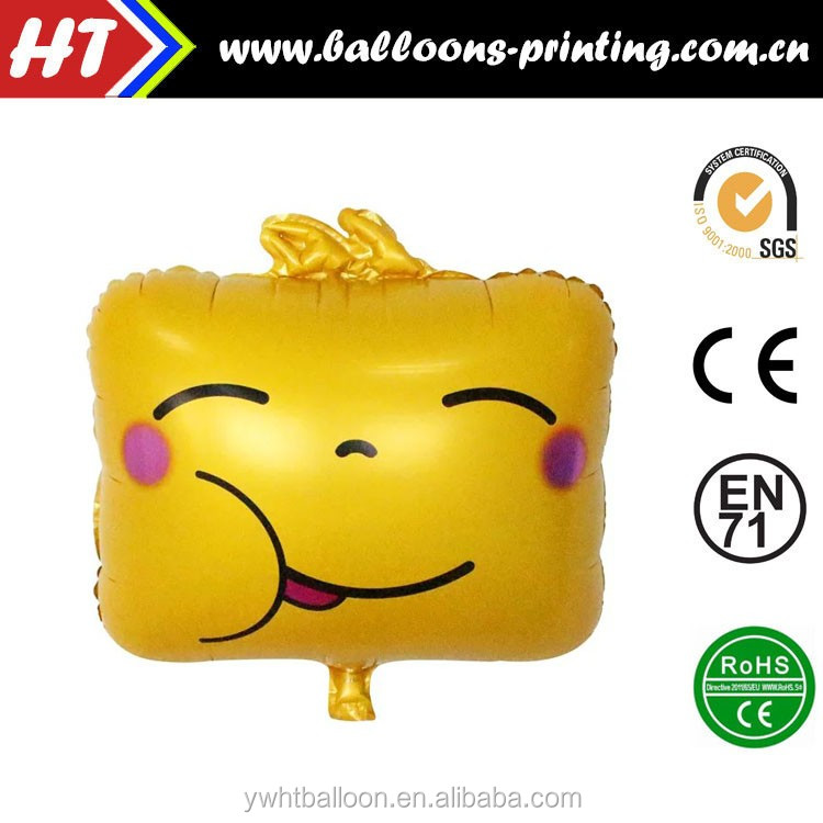 "20"" New Arrivalling Kawaii Face Emoji Balloon Heliun Balloon Party Decoration Balloon"