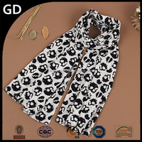 GDS0106 High quality factory price in stock very popular women 1 dollar plain cheap scarf