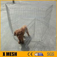 "30"" Pet Dog Playpen Exercise Fence Cage Kennel Outdoor Indoor"