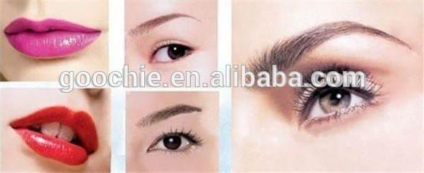 professional and high quality permanent makeup ink micropigment with FAD approve