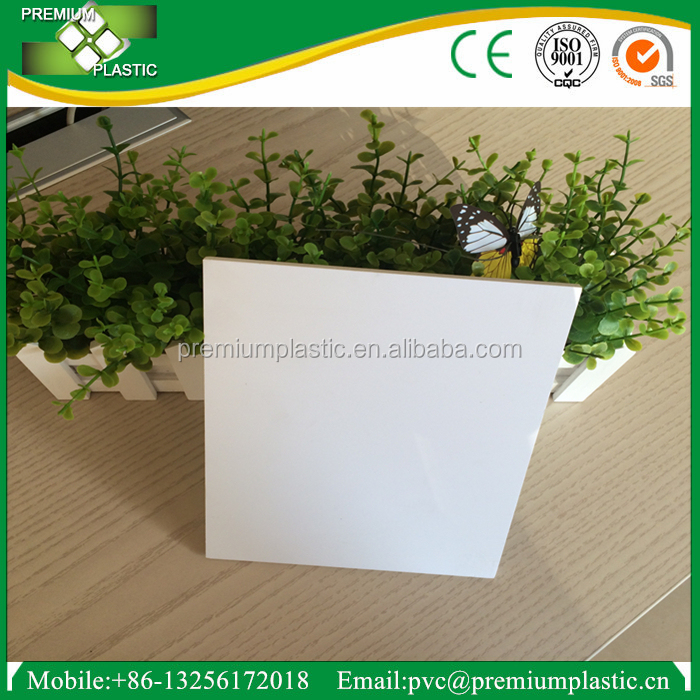 Best quality white pvc foam plate for advertising pvc extruded board good price
