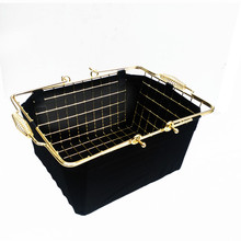 Manufacturer directly supply square metal wire basket for sale