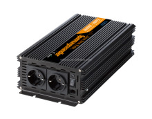 EDECOA Pure Sine Power Inverter 1500w DC 12v 24v to EU type AC 220v 230v 240v Converter with Remote Controller and Silent Fan