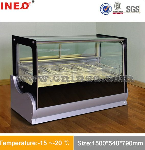 Good Look Counter Top Mini Ice Cream Display Freezer/Mini Ice cream Freezer/Countertop Display Freezer