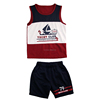 2016 sailing priting promotional wholesale children boutique clothing for boy