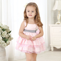 Summer 2015 Children Wear Guangzhou Party Dresses For 6 Year Old Girl Princess Dresses For Kids