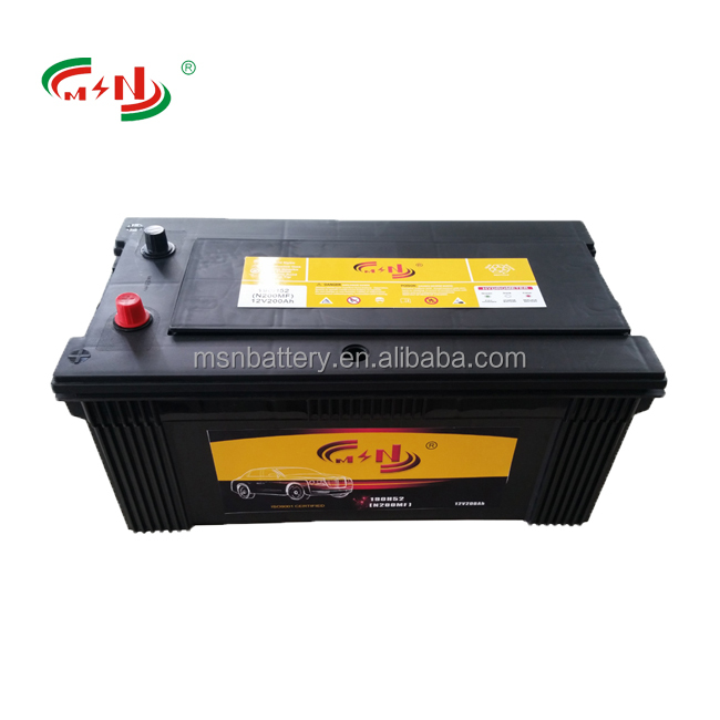 Truck battery 12V 220Ah high CCA low self discharge model 245H52R