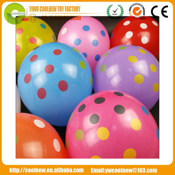 advertising 2.8g 5 sides Printed happy new year all latex balloons for new year party decoration