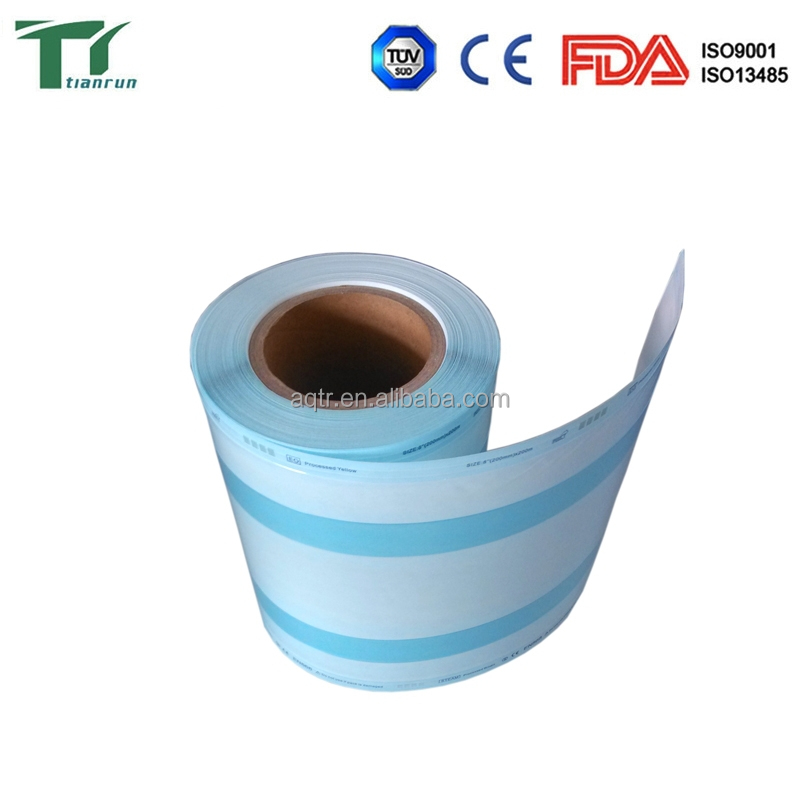 Heat-sealing Flat Reel for disinfection of family products
