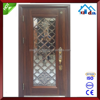 Exterior Design Modern Wrought Iron Door
