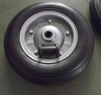 13inch rubber solid wheel 3.50-7 with plastic hub