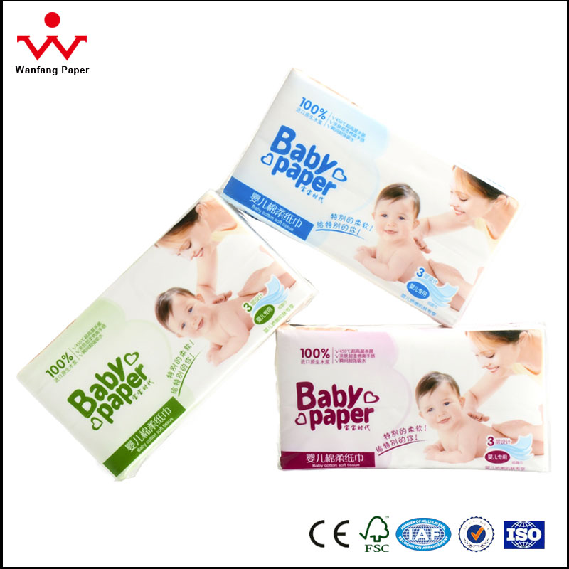 Toilet Tissue Paper Factory High Bulk Facial Tissue Paper