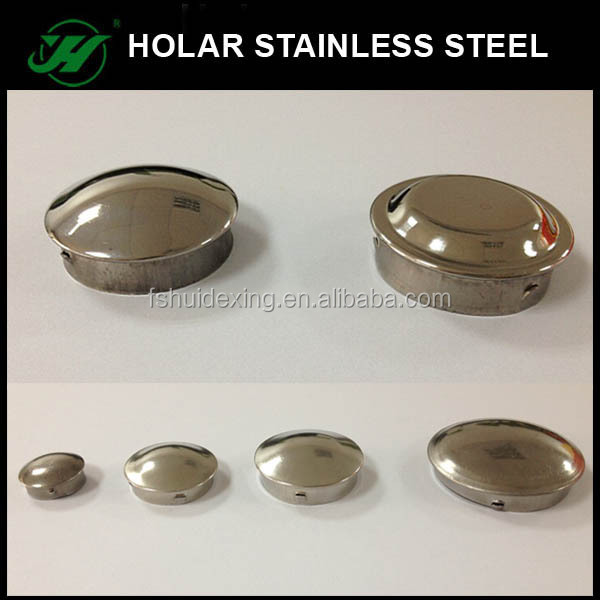 Stainless steel railing pipe end caps buy