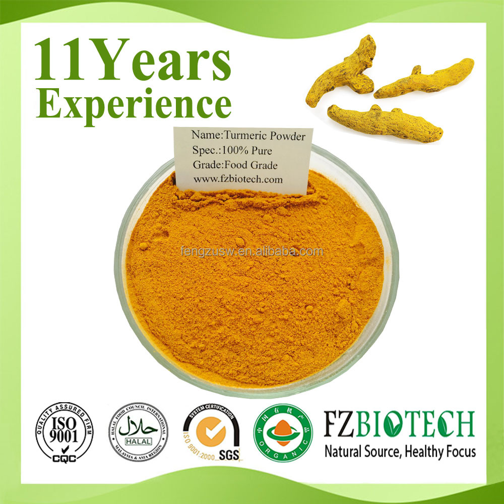 Chinese Manufacturer Low Price High Quality Red and White Root Pure Turmeric Powder