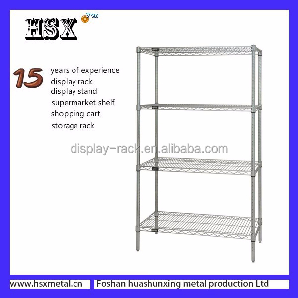 wholesale customized metal diy tool rack,chrome diy tool rack