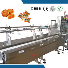 small packet full auto feeding and packing machine for hot dog bread