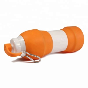 Leakproof Silicone Collapsible Water Bottle