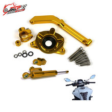For Kawasaki Z1000 motorcycle parts steering damper stabilizer bracket support kits