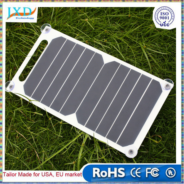 5V 5W Solar Panel Bank DIY Home Portable Solar Power Charging Panel Charger USB Solar Panel for Smart Phone