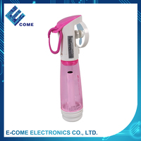 EW-1103 Portable Battery-operated Mini Water Spray Cooling Fan for Sport Beach Travel