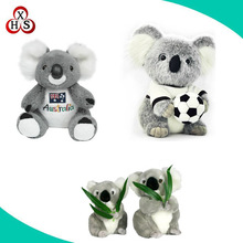 Oem plush toys embroidery koala soft plush toy stuffed koala bear
