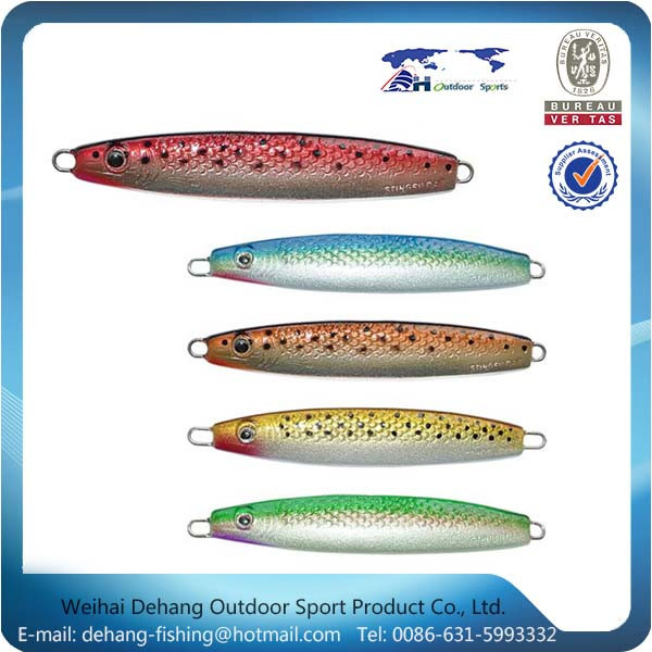 High Quality Swimming Well Metal Fish Lure Custom Fish Lures