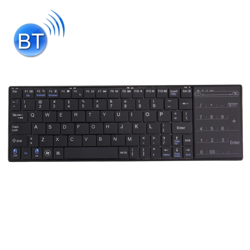 Bluetooth Wireless keyboard cover 80 Keys silicon keyboard tablet keyboard with Touchpad