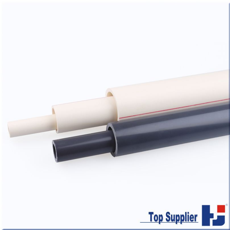 Good quality free sample factory manufacturing top supplier all types water system high temperature pvc pipe
